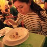 eatin soup